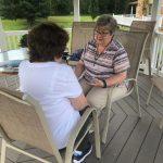 Sr. Ruth Ann meets for Spiritual Direction
